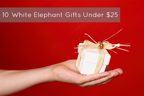 white elephant gift ideas under 25 office holiday part gift exchange