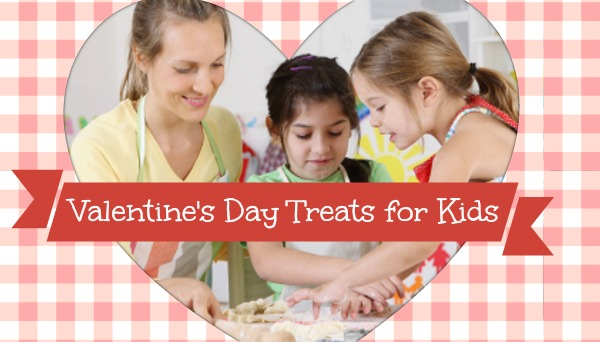 baking with kids valentine's day treat ideas recipes